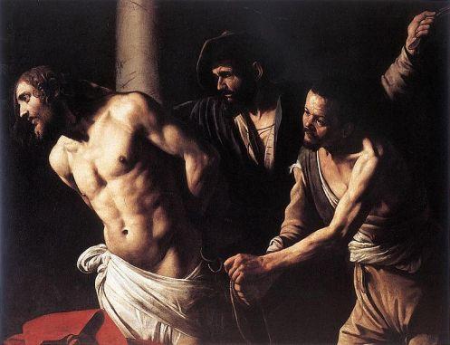781px-Caravaggio_flagellation